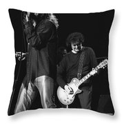 Page And Plant Throw Pillow