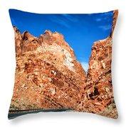 Page Arizona Throw Pillow