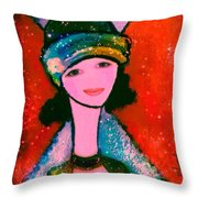 Page Throw Pillow