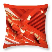 Pagoda 1225 Throw Pillow