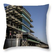 Pagoda And The Pits Throw Pillow
