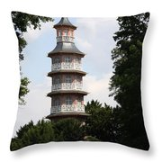 Pagoda - Dessau Woerlitz Throw Pillow