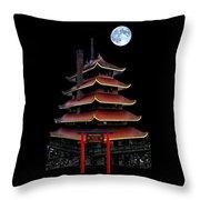 Pagoda Throw Pillow