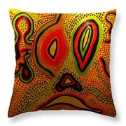 Pain And Agony Throw Pillow