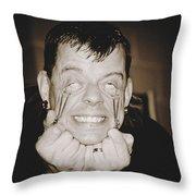 Painful Throw Pillow