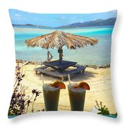 Painkillers Throw Pillow