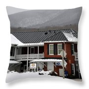 Paint Bank General Store Throw Pillow