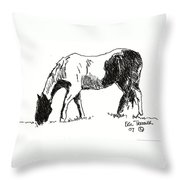Paint Throw Pillow