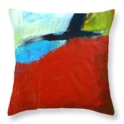 Paint Improv 11 Throw Pillow