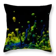 Paint Sculpture 3 Throw Pillow