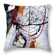Paint Solo 6 Throw Pillow