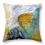 Paint Solo 7 Throw Pillow