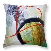 Paint Solo 8 Throw Pillow