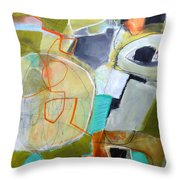 Paint Solo 9 Throw Pillow