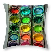 Paint Well Loved Throw Pillow