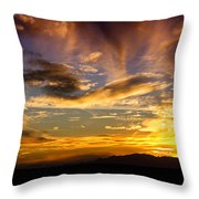 Painted By Mother Nature  Throw Pillow