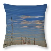 Painted Flow 21 Throw Pillow