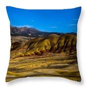 John Day National Monument 2 Throw Pillow