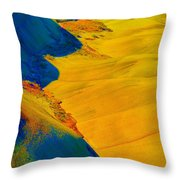 Painted Hills 3 Throw Pillow