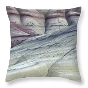 Painted Hills Oregon 8 Throw Pillow