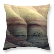 Painted Hills Oregon 9 Throw Pillow