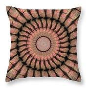 Painted Kaleidoscope 19 Throw Pillow