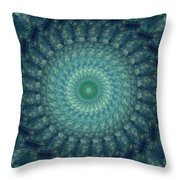 Painted Kaleidoscope 3 Throw Pillow