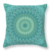 Painted Kaleidoscope 4 Throw Pillow