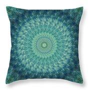 Painted Kaleidoscope 7 Throw Pillow