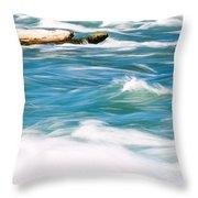 Painted Niagara Throw Pillow