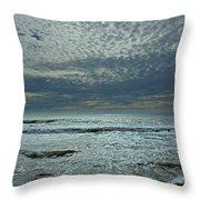 D3a6136-painted Sky Bolinas Ca  Throw Pillow