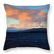 Painted Sky Throw Pillow