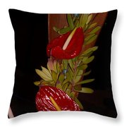 Painter's Palette Throw Pillow