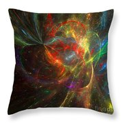Painting The Heavens  Throw Pillow