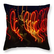 Painting With Light 3 Throw Pillow