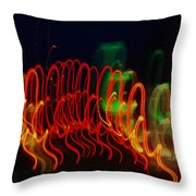 Painting With Light 5 Throw Pillow