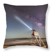 Painting With Light Throw Pillow