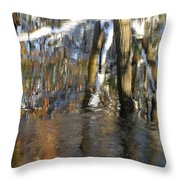 Painting With Light The Mind For Existence Throw Pillow