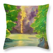 Paintings By Lyle Throw Pillow