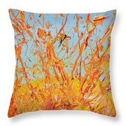 Paintsplosion Throw Pillow