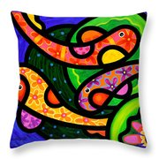 Paisley Pond - Horizontal Throw Pillow