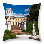 Palace Archangelskoe. Russian Versal Throw Pillow