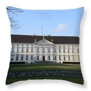 Palace Bellevue - Berlin Throw Pillow