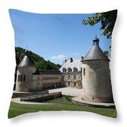 Palace Bussy - Rabutin - Burgundy Throw Pillow