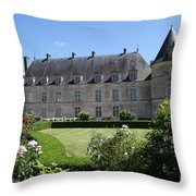 Palace Bussy Rabutin From The Garden Throw Pillow