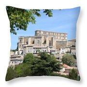 Palace Grignan Throw Pillow