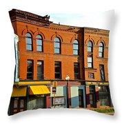 Palace Hotel Throw Pillow