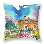 Palace In Sintra Throw Pillow