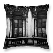 Palace In Venice Throw Pillow