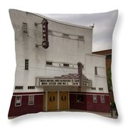 Palace Movie Theater Throw Pillow